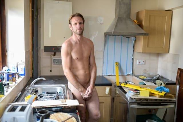 Naked gardener denies 13 public order offences