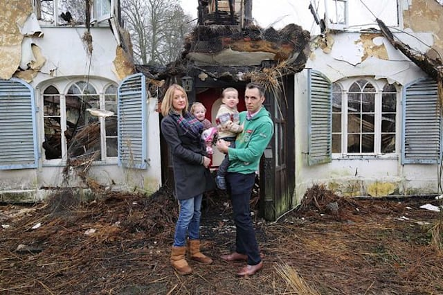 Family's 'dream home' destroyed in fire days after moving in