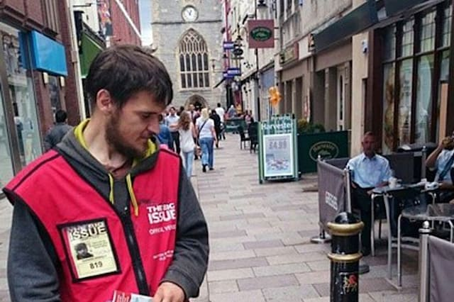 Popular Big Issue seller dies after being found in McDonald's toilets