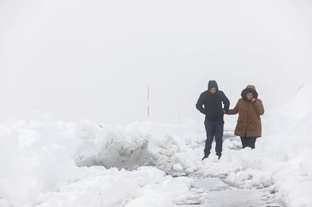 Costa Blanca hit by snow for first time in years