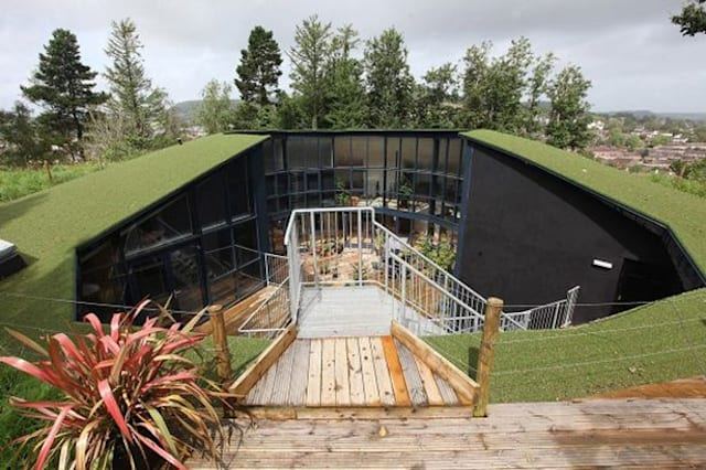 Amazing house created out of an old water tank