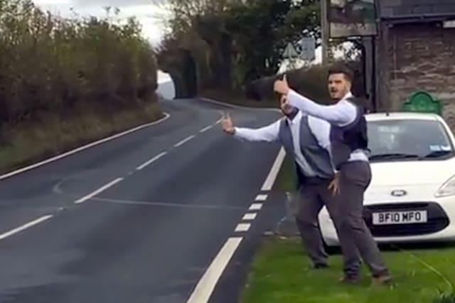 Best men make video about losing speeches