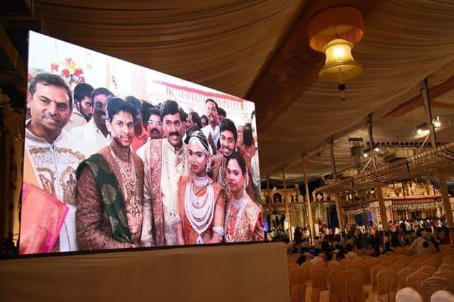 Inside the £59m wedding