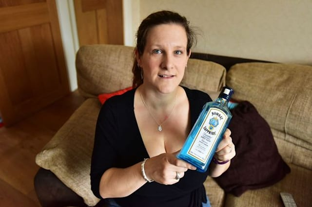 Mum finds Bombay Sapphire bottle actually filled with water, not gin