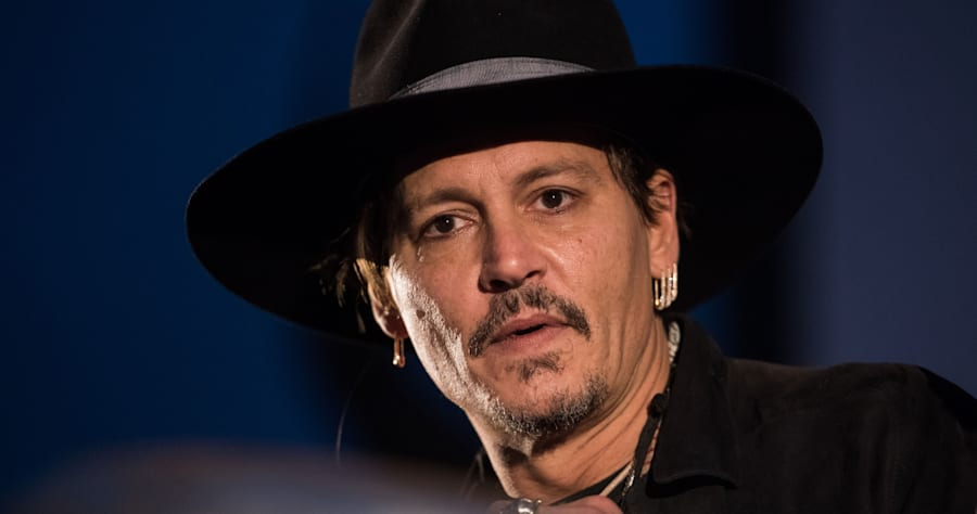 Johnny Depp Cleans Up Nice in First Photo From 'Richard Says Goodbye'