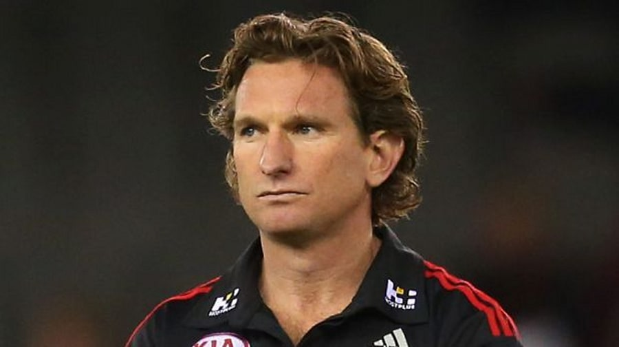 James Hird, 43, was rushed to hospital last week amid reports of an