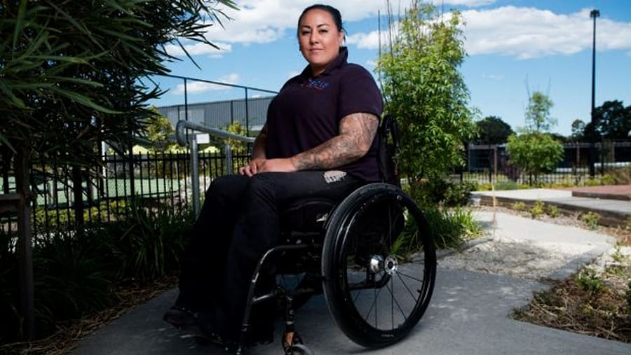 Heidi, a T4 complete paraplegic as a result of a motorcycle accident in 2009, features in the documentary....