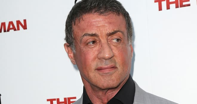 Sylvester Stallone at a Screening of 'The Iceman' in Hollywood on April 22, 2013