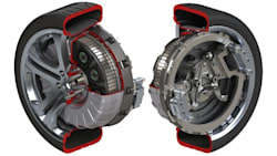 protean in-wheel motors