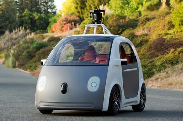 Google autonomous pod car