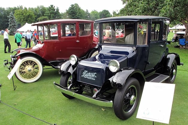detroit electric ev at Concours d'Elegance of America 2013