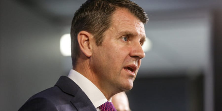 NSW Premier Mike Baird if facing increasing internal and external pressure over a number of policy