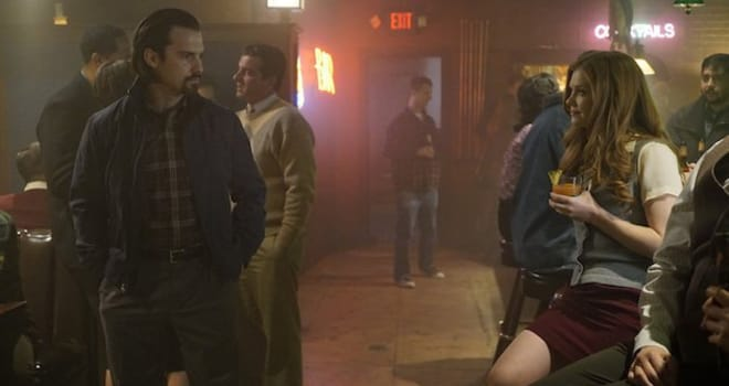 """THIS IS US -- """"What Now?"""" Episode 117 -- Pictured: (l-r) Milo Ventimiglia as Jack, Megan West as Heather -- (Photo by: Paul Drinkwater/NBC)"""