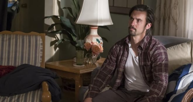 "THIS IS US -- ""Moonshadow"" Episode118 -- Pictured: Milo Ventimiglia as Jack -- (Photo by: Ron Batzdorff/NBC)"