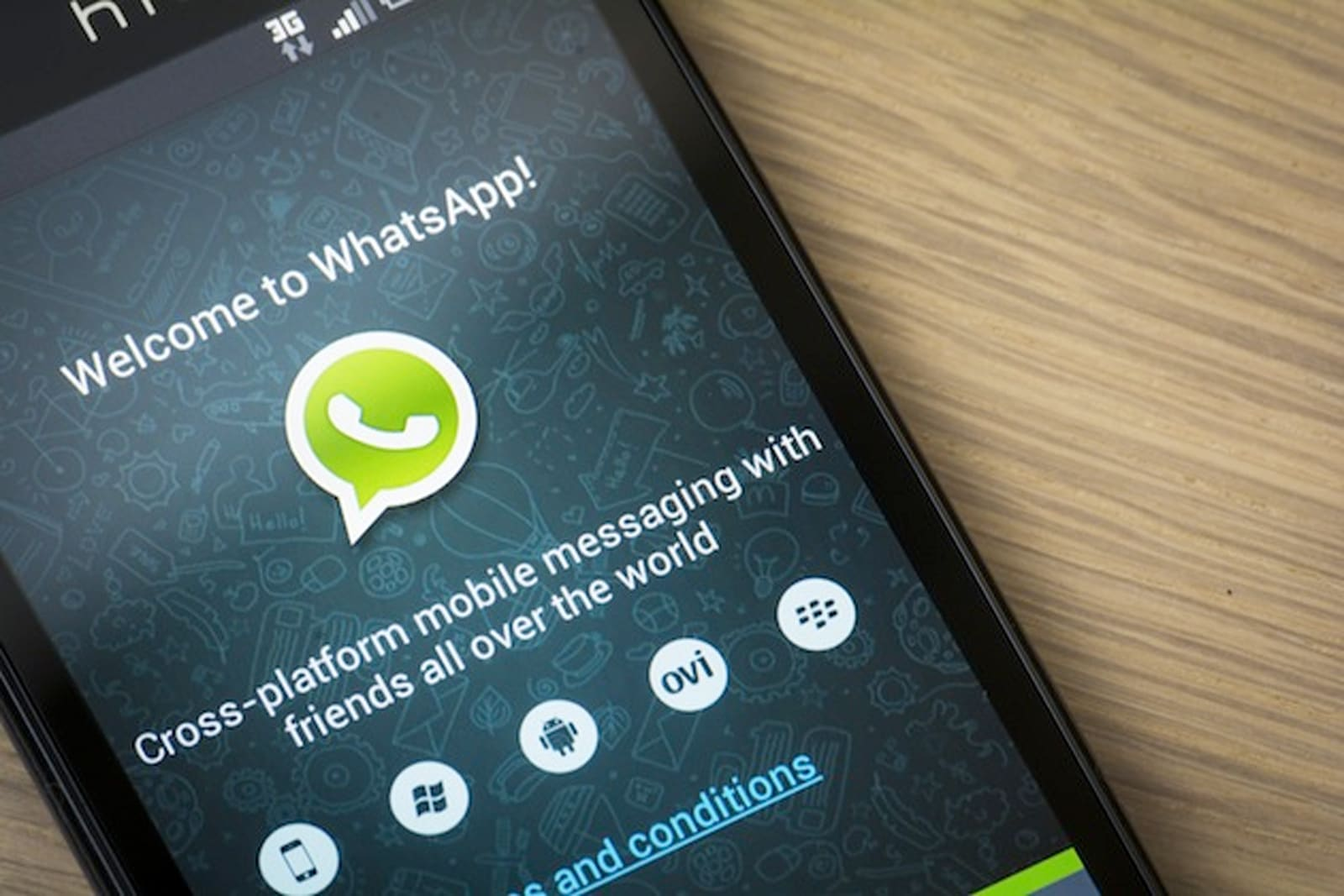 HILVERSUM, NETHERLANDS - FEBRUARY 2014, 2014: WhatsApp Messenger is a proprietary, cross-platform instant messaging subscription service for smartphones with Internet access founded in 2009.; Shutterstock ID 177177047; PO: aol; Job: production; Client: drone
