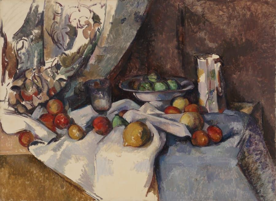Paul Cézanne's 'Still Life with Apples',