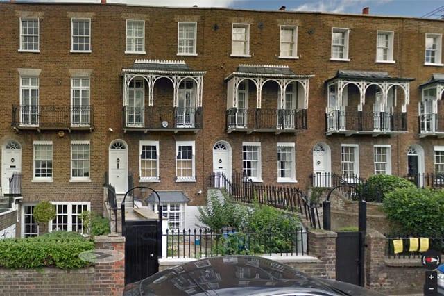 Anna Friel's house