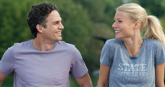 Mark Ruffalo and Gwyneth Paltrow in 'Thanks for Sharing'