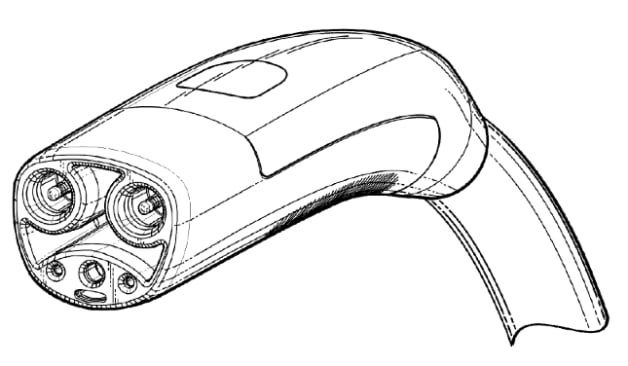 Tesla patent drawing charge cord