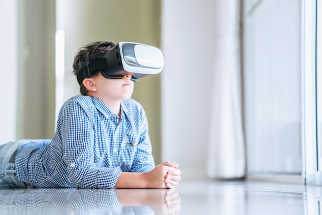 Using virtual reality headsets causes the accommodating-convergence reflex in our eyes to become out...