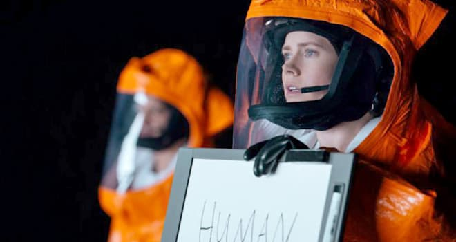 Arrival review: Amy Adams has close encounter of the third kind