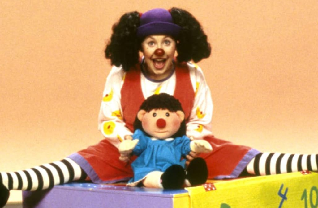 Photo cred Twitter  sc 1 st  AOL.com & Loonette the Clown from u0027The Big Comfy Couchu0027 looks a whole lot ...