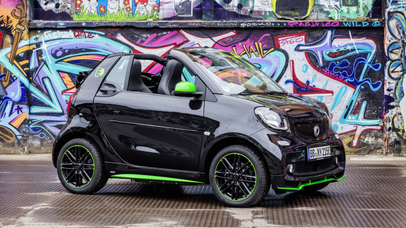 2018 Smart ForTwo Electric Drive cabriolet (European spec)