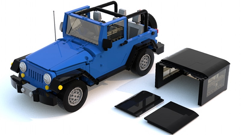 Lego Jeep Wrangler JK