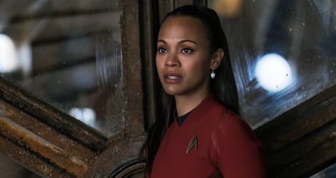 Uhura in STAR TREK BEYOND