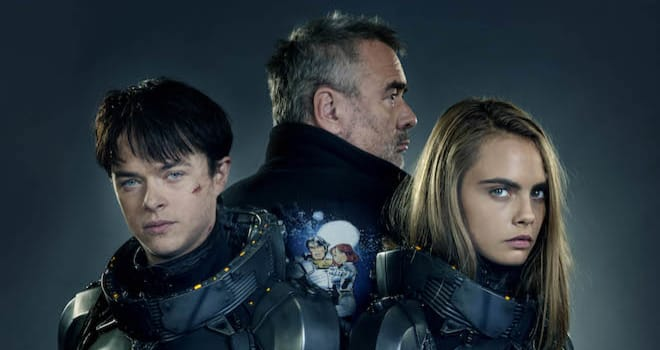 Star Dane DeHaan, director Luc Besson and star Cara Delevingne team up for EuropaCorp's Valerian and the City of a Thousand Planets