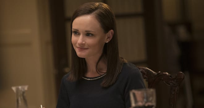 Alexis Bledel as Rory Gilmore in GILMORE GIRLS: A YEAR IN THE LIFE