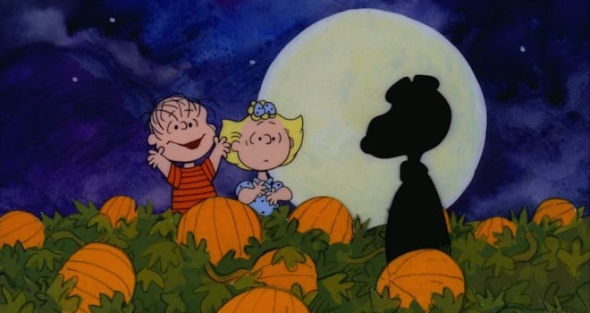 """IT'S THE GREAT PUMPKIN, CHARLIE BROWN"" - The classic animated Halloween-themed PEANUTS special, ""It's the Great Pumpkin, Charlie Brown,"" created by late cartoonist Charles M. Schulz, airs WEDNESDAY, OCTOBER 15 (8:30-9:00 p.m., ET) on the ABC Television Network. (©1966 United Feature Syndicate Inc.)"