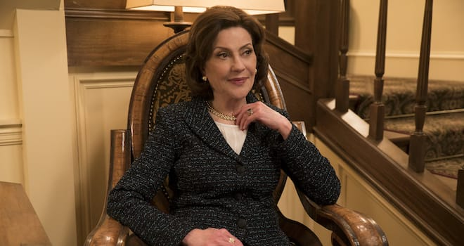 Kelly Bishop as Emily Gilmore in GILMORE GIRLS: A YEAR IN THE LIFE