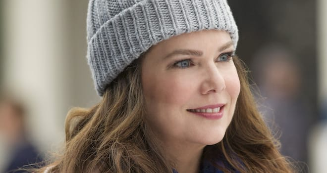 Lauren Graham as Lorelai Gilmore in GILMORE GIRLS: A YEAR IN THE LIFE