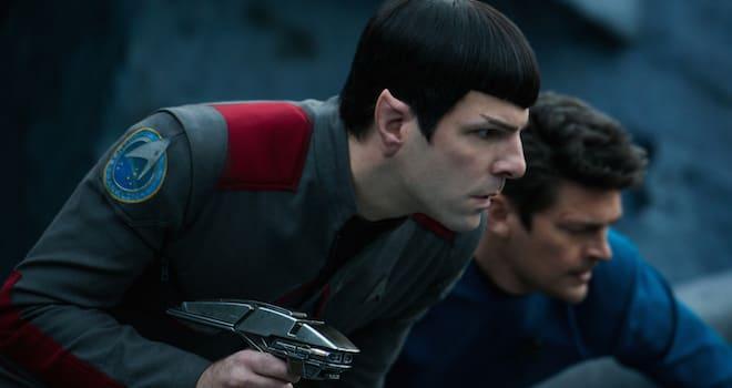 Spock and Bones in STAR TREK BEYOND