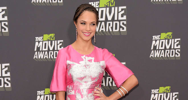 Alexis Knapp at the 2013 MTV Movie Awards