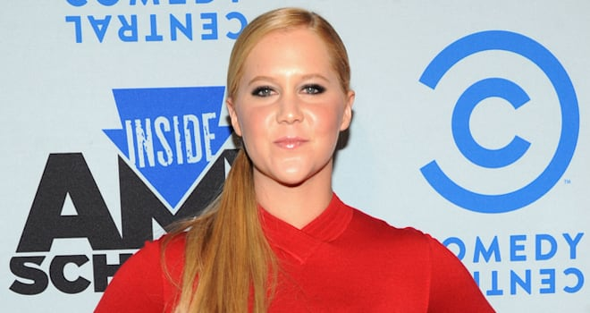 Amy Schumer at an 'Inside Amy Schumer' Premiere Screening Party on April 24, 2013, in New York City