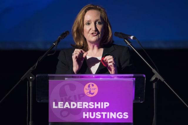 UKIP Hold Their Leadership Hustings In Wales