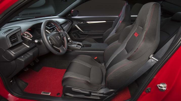2017 Honda Civic Si Prototype interior
