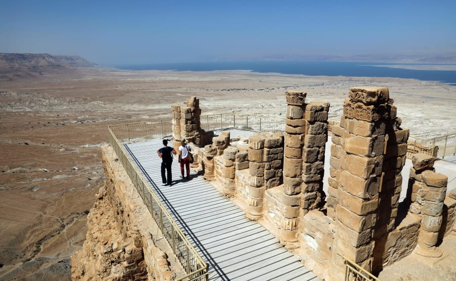Masada was the mountain fortress constructed by King Herod that was occupied by Jewish rebels after the...
