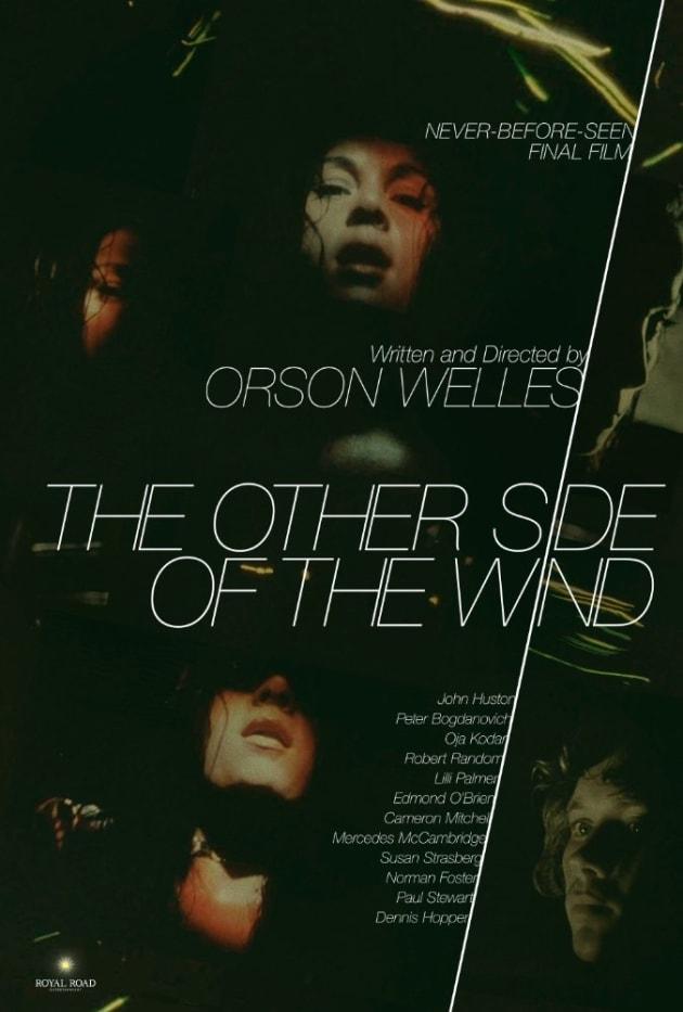 L'affiche du film inachevé d'Orson