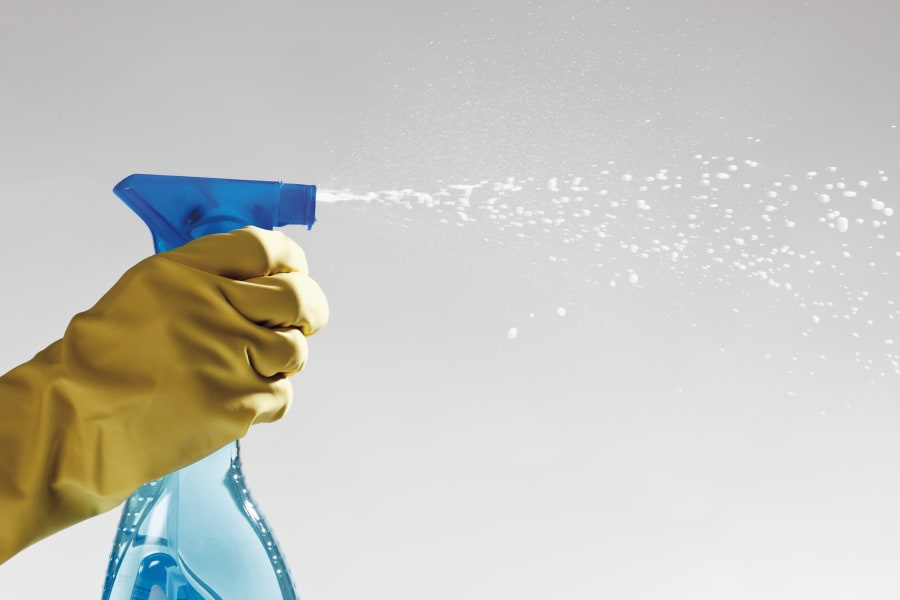 Incessant spray-and-wiping is not the only