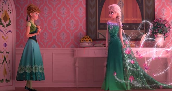Frozen Fever, Frozen sequel, Frozen short, Elsa and Anna