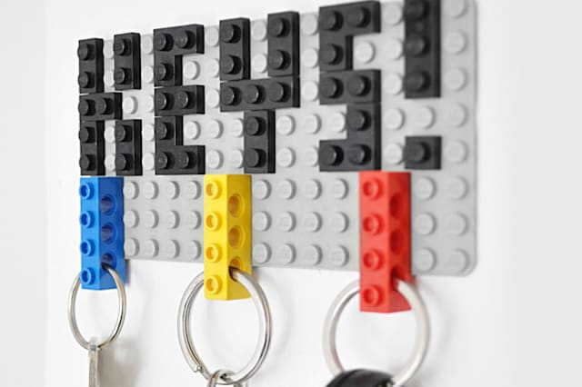 Lego keyholder