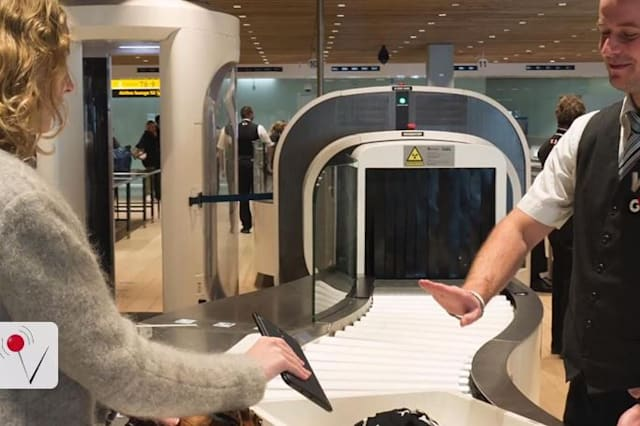 Airport security checks may get a lot easier