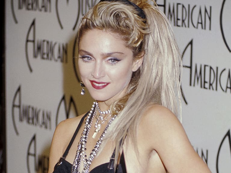 Madonna's style through the years