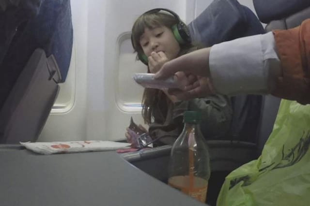 Hidden cameras show how close strangers can get to children on planes