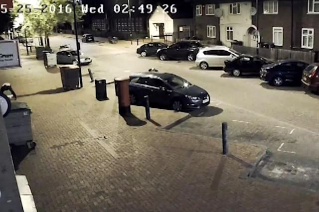 Burglar gets away on mobility scooter