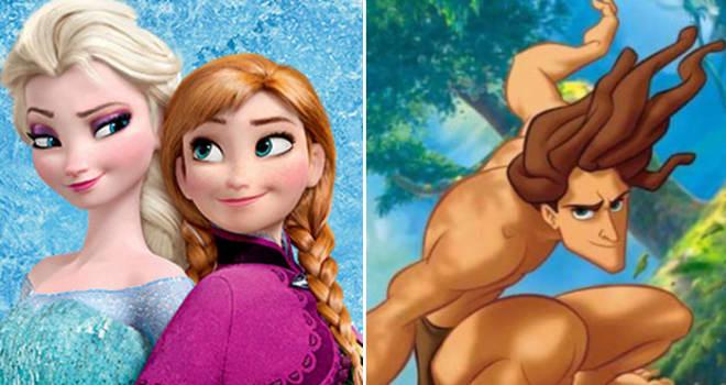 Frozen and Tarzan