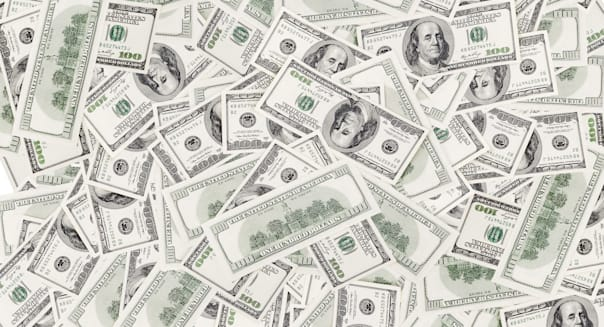 background with money american...
